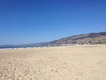 Plage de la Californie Images libres de droits