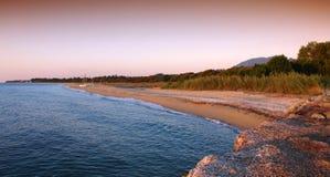Plage de la Corse Photo libre de droits