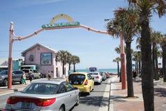 PLAGE DE LA FLORIDE FLAGLER Image libre de droits