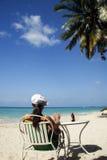 Plage de la Jamaïque Photographie stock