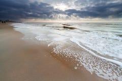 Plage de la Mer du Nord Photos libres de droits