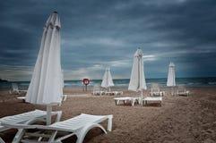 Plage de la Mer Noire Photo libre de droits