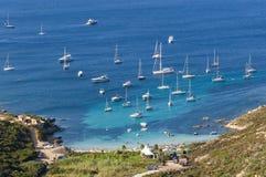 Plage de la Revellata Corsica Stock Photos