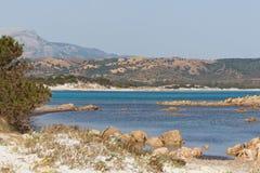 Plage de la Sardaigne Image libre de droits