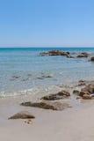 Plage de la Sardaigne Photo libre de droits