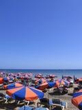 Plage de Lanzarote Photographie stock libre de droits