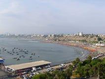 Plage de Lima dans la baie Photographie stock libre de droits