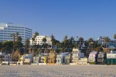 Plage de Los Angeles images libres de droits