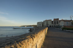 Plage De Los angeles Gravette, Antibes, Francja Zdjęcie Royalty Free