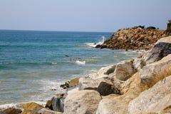 Plage de Malibu Images libres de droits