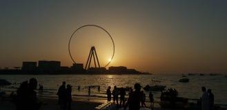 Plage de Meetes d'architecture moderne belle photos libres de droits
