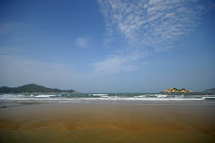 Plage de mer Photo stock