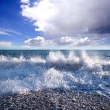 Plage de mer Image libre de droits