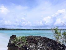 Plage de mer Photo libre de droits