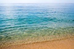Plage de mer en Espagne Images libres de droits