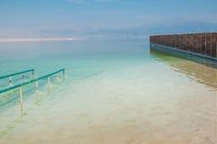 Plage de mer morte images libres de droits