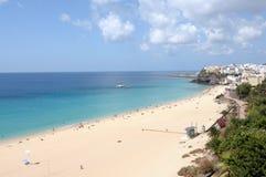 Plage de Morro Jable, Fuerteventura Espagne Photographie stock libre de droits