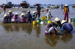 PLAGE DE MUINE, VIETNAM - 19 OCTOBRE Image libre de droits