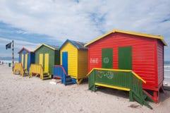 Plage de Muizenberg, Afrique du Sud Images stock