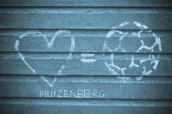 Plage de Muizenberg, Afrique du Sud Image stock