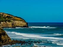 Plage de Muriwai, île du nord, Auckland, nouveau Zeaalnd image stock