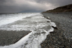 Plage de Murlough photo stock