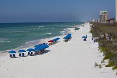 Plage de Navarre - la Floride Images libres de droits