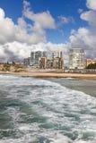 Plage de Newcastle - Australie de Newcastle NSW Photos stock