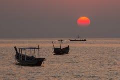 Plage de Ngapali - état de Rakhine - Myanmar Photographie stock libre de droits