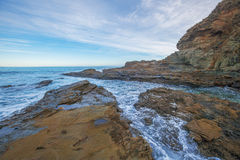 Plage de nid d'Eagles, Victoria, Australie Photos libres de droits