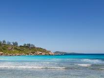 Plage de noix de coco de plage Photographie stock libre de droits