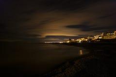 Plage de Nules, Espagne Photo stock