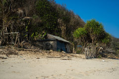 Plage de Pandawa Photo stock