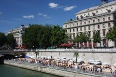 Plage de París Imagen de archivo libre de regalías