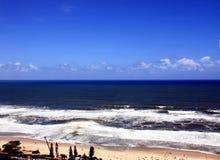 Plage de paradis de surfers Photographie stock