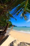 Plage de paradis de vacances image libre de droits