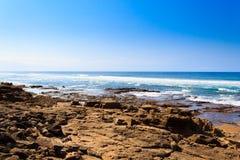 Plage de parc de marécage d'Isimangaliso, Afrique du Sud images libres de droits