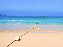 Plage de Patong à l'île de phuket, Thaïlande Photo stock