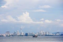 Plage de Pattaya à la journée, Thaïlande image libre de droits