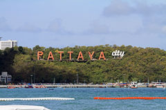 Plage de Pattaya Photos stock
