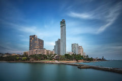 Plage de Pattaya Photo libre de droits