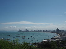 Plage de Pattaya Image libre de droits
