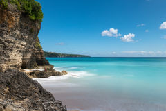 Plage de pays des merveilles dans Bali Photographie stock