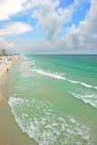 Plage de Penascola, la Floride Photo libre de droits