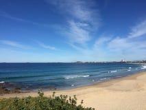Plage de phare de Wollongong Photos libres de droits
