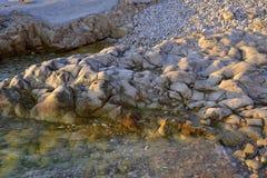 Plage de pierres image stock