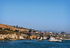 Plage de Pismo, côte centrale, la Californie Photos stock