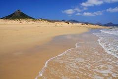 Plage de Porto Santo Images libres de droits