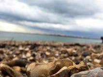 Plage de Portsmouth Photo stock