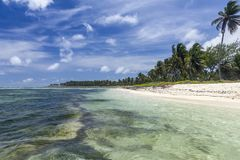 Plage de Punta Cana Image stock